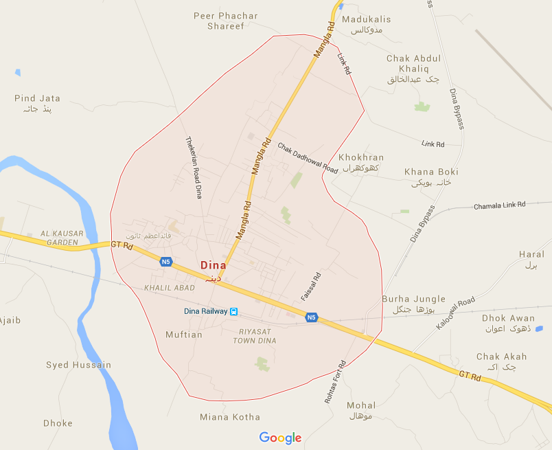 dina-map - jhelum.pk on